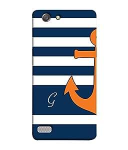 PrintVisa Designer Back Case Cover for Oppo Neo 7 (sea jack with letter G)