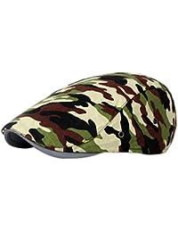 iTemer 1 Pieza de Moda Estilo Camuflaje Creativo al Aire Libre Casquillo  del Sombrero Boina Unisex 63e76cebeb6