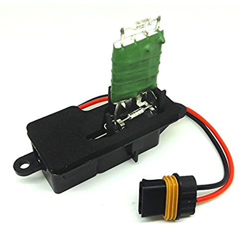 Front Heater Blower Motor Resistor 12135105 For 96-05 Gmc Safari Chevy Astro Van 1996 97 98 99 2000 01 02 03 04 05 Gmc Safari 12135105, 89018436, 15-80550