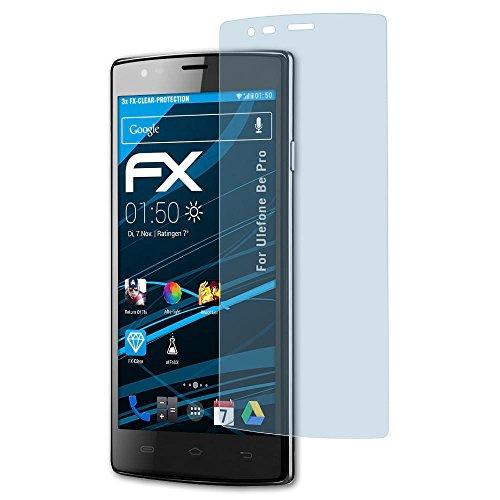 atFolix Schutzfolie kompatibel mit Ulefone Be Pro Folie, ultraklare FX Bildschirmschutzfolie (3X)