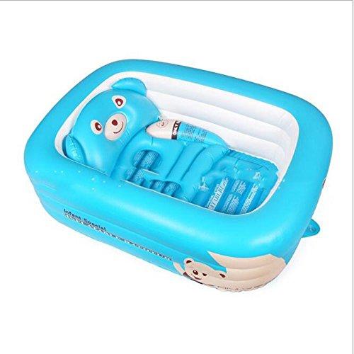 AIBAB Kleinkind Schwimmbad Falten Kind Badewanne Aufblasbar Spielpool Baby Baden Lieferungen