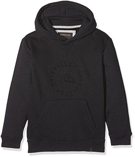 Quiksilver Otlr Kvj0 Sweat-Shirt à Capuche Garçon, Anthracite/Solid, FR : L (Taille Fabricant : 14)