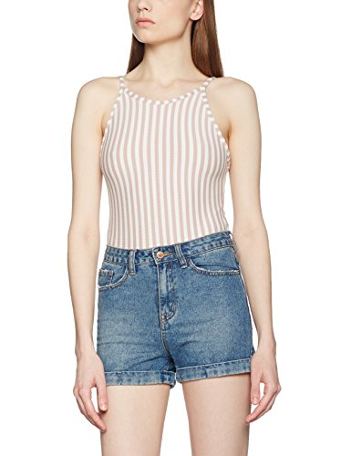 Double Agent Damen Top  Stripped Body Mehrfarbig