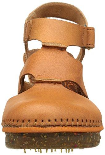 ART - Amsterdam, sandali punta chiusa Donna Marrone (Braun (CUERO))