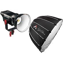 Aputure Ls Com 120D 6000K Tlci / Cri 96 Luz de Vídeo LedControl Temperatura 18Db Ruido Ultra-Silencio Aputure Light Dome Softbox Difusor