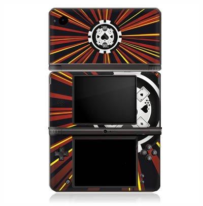 Nintendo Dsi-chip (Nintendo DSi XL Case Skin Sticker aus Vinyl-Folie Aufkleber Pik Poker Chip)