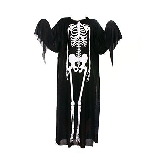 stüm Skeleton Kleidung Party Cosplay Maskerade Männer Frauen Halloween Lustige Dekoration ()