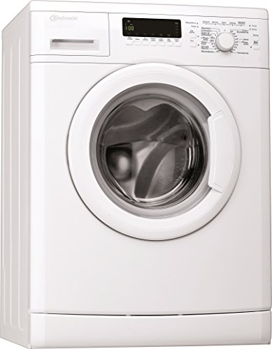 Bauknecht WA Care 824 PS Waschmaschine FL/A+++ / 137 kWh/Jahr / 1400 UpM / 8 kg/Unterbaufähig /Dosieranzeige und EcoMonitor/weiß