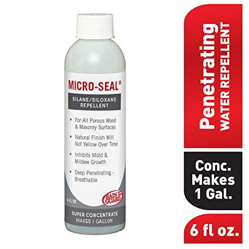 Regenschutz für cr-0356 micro-seal bereit, zu verwenden, für poröse Oberflächen Premium Beton & Bohrspitzen für Steine 1 Liter, 6 oz Concentrate bottle makes 1 gallons of solution, farblos, 1 -