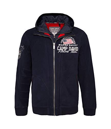 CAMP DAVID JACKE COAST GUARD BLUE NAVY XL -