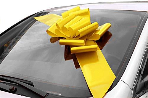 GiftWrap Etc. Gran Arco Coche Amarillo - Decoración