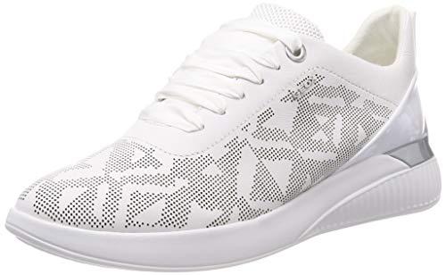 94766e3c Geox D Theragon C Zapatillas para Mujer, White C1001 38 EU