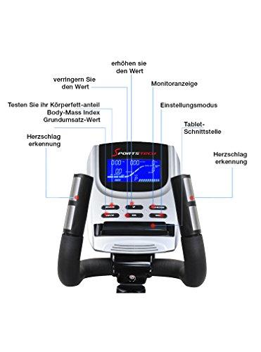 Sportstech Elite Crosstrainer CX650 mit App Steuerung + Google Maps - 6