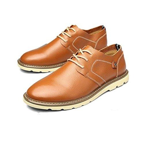 Hommes Affaires Loisirs Mode Chaussures En Cuir C