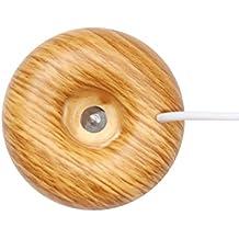 Humidificador, OUNONA Mini USB Donut Humidificador Aromaterapia para Casa Oficina Spa Yoga etc. (grano de madera)