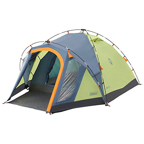 coleman-drake-3-tent-lime-green-and-blue