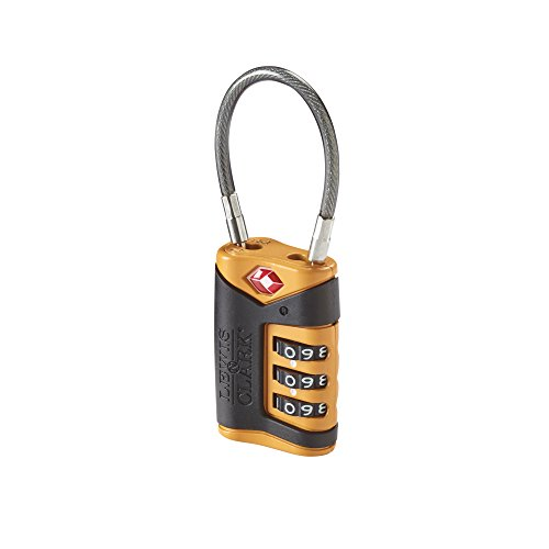 lewis-n-clarks-travel-sentry-cable-lock-gepckschloss-orange
