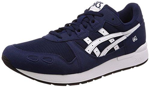 ASICS Gel-Lyte, Chaussures de Running Homme, Bleu (Peacoat/White 400), 45 EU