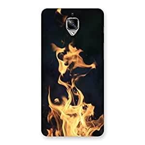 Neo World Fire Flame Back Case Cover for OnePlus 3