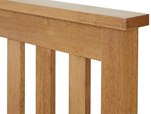 Save On Goods UK Solid hardwood Oak finish wood wooden bed frame bed stead.Low foot end board. 3ft Single, 4ft small, 4ft6 double,5ft King, 6ft Super King (5ft King)