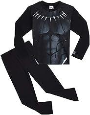 Marvel- Pijamas de Avengers Black Panther para Niños | Ropa o Disfraz Entero de Superhéroe Pantera Negra de lo