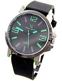 V6 Montre Homme MONTRE2797 - Reloj , correa de silicona color negro