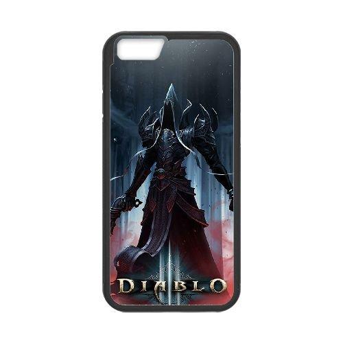 Diablo coque iPhone 6 Plus 5.5 Inch Housse téléphone Noir de couverture de cas coque EBDXJKNBO09199