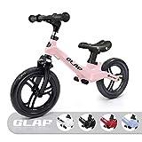 KORIMEFA Vélo Draisienne pour Enfants sans Pédale Alliage De Magnésium Premier Vélo d'Entraînement d'Équilibre pour Filles Garçons Et Tout-Petits De 18 Mois À 5 Ans (Vert)