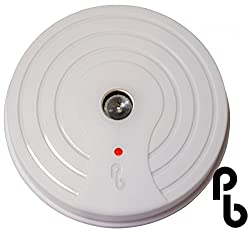 Discreet Ceiling Mountable Battery Operated Sonic Rat and Mouse Repeller - PestBye by Primrose