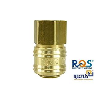 1 Stück Druckluftkupplung Rectus RQS (TYP26) mit Innengewinde 1/4