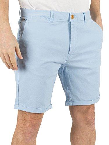 Scotch & Soda Uomo Shorts Classic tinti Chino, Blu, 30W