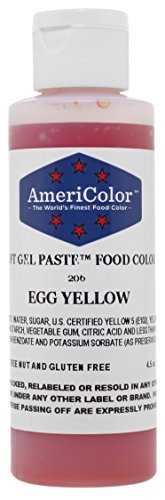 Fondantfarben AmeriColor SoftGel EGG YELLOW 133ml -