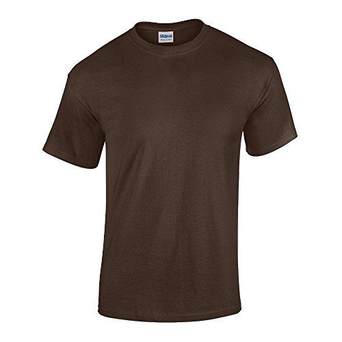 Gildan - Heavy Cotton T-Shirt '5000' Dark Chocolate