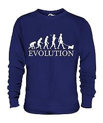 Candymix - Tibetan Spaniel Evolution Of Man - Unisex Sweatshirt Mens Ladies Sweater Jumper Top