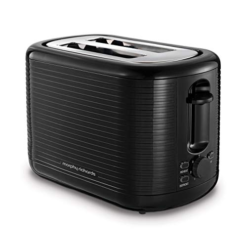 Morphy Richards 228398 Arc 2 Slice Toaster Black Best Price and Cheapest