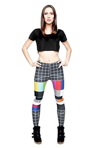 Funny Leggings Company© Gedruckte Yoga Hosen 3D Print / Motiv / Design Eine Größe Unisex Damen Girl's Frühling Sommer 2017 NO SIGNAL 29533