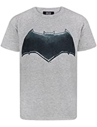 Justice League Batman Logo Boy's T-Shirt