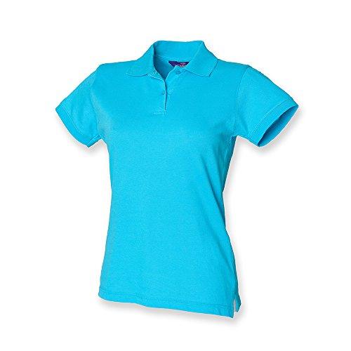 Henbury - Polo -  - Polo - Col polo - Manches courtes Femme Turquoise - Turquoise