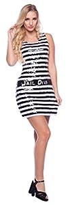 Folat 21925Convict Purpurina Mujer Vestido (Grande/XL)