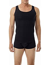 Underworks Mens Ultra Light Cotton Spandex Compression Tank