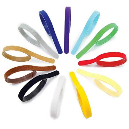 JER Halsbänder mit Klettverschluss, verstellbar, für Welpen, 12 Farben