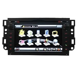 Koolertron(TM)Pour Chevrolet Captiva Epica Lova Autoradio DVD Système navigation GPS avec 7 pouces écran tactile HD / Bluetooth / PIP iPod RDS CDC + Commandes au volant