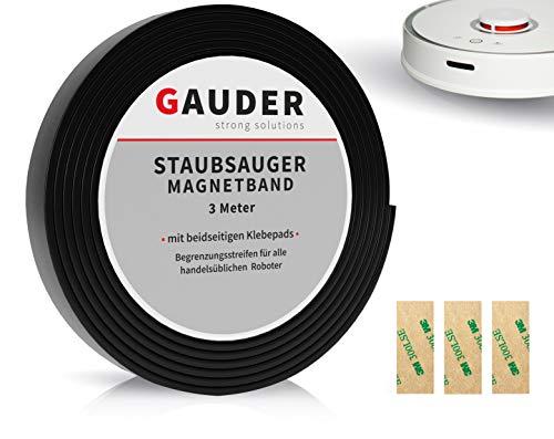GAUDER Saugroboter Magnetband NEUE VERSION 2019 I passend für Xiaomi Neato Vorwerk Miele Tesvor
