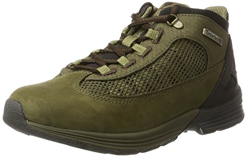 Timberland Kids Kenetic Fabric and Leather Chukka Boots, Grün (Deep Lichen Green), 39 EU (Timberlands Kids Grün)