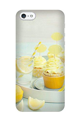 iPhone 4/4S Coque photo - Cupcakes au citron
