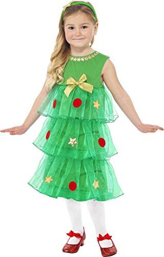 Weihnachtsbaum Kost�m Kleid KINDER 3-5 Jahre Tannenbaum (Kostüme Kleid Weihnachtsbaum)