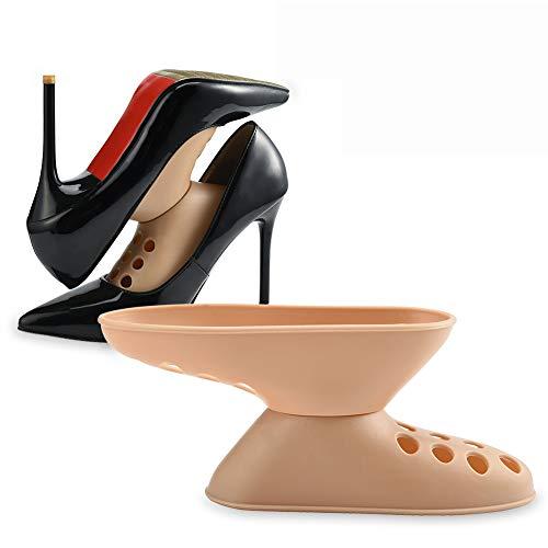 Wenhu 6 Paar Schuhspanner bahre Shaper Kunststoff Schuh unterstützung gerät qualität schuhregal für high Heel Turnschuhe schuhhalter -