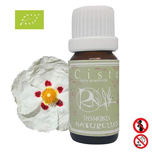 Ressources Naturelles - huile essentielle Ciste ladanifère bio 30ml