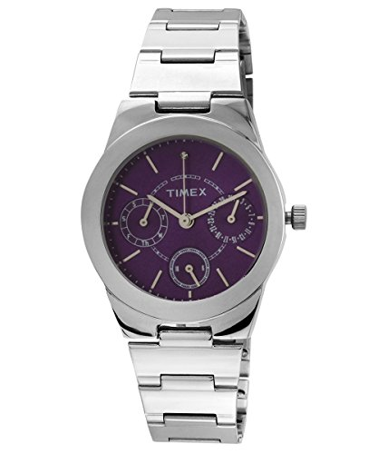 Timex E-Class Analog Purple Dial Women's Watch - J101 image