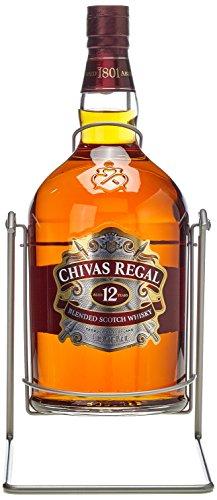 Chivas Regal Scotch 12 Years Old mit Pumpe mit Geschenkverpackung Whisky (1 x 4.5 l)
